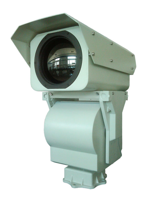 IP66 Uncooled IR PTZ Thermal Imaging Camera With Motorized Zoom RS - 485