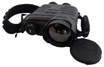 Infrared thermal imaging Binoculars , Uncooled IP66 Night Vision Binoculars