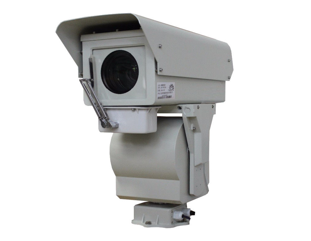 Dustproof AC24V Fog Penetration Camera 50Hz 6 - 10km Distance RJ45 Interface