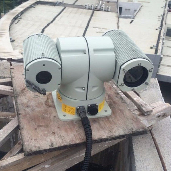 Uncooled UFPA Sensor Dual Thermal Camera Night Vision With IP Surveillance System